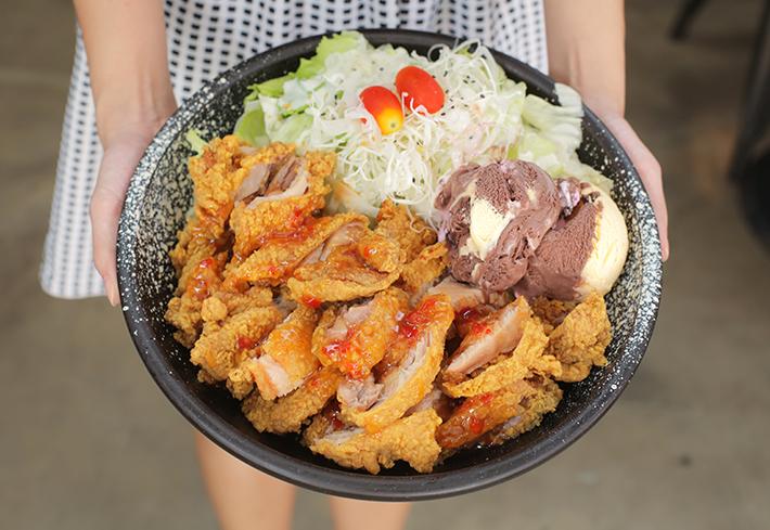 Oven & Fried Chicken Yoghurt Fried Chicken