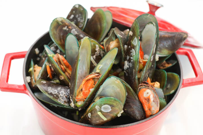 Royale Mussels With White Wine