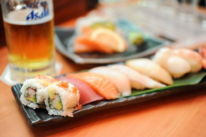 Standing Sushi Bar Sushi