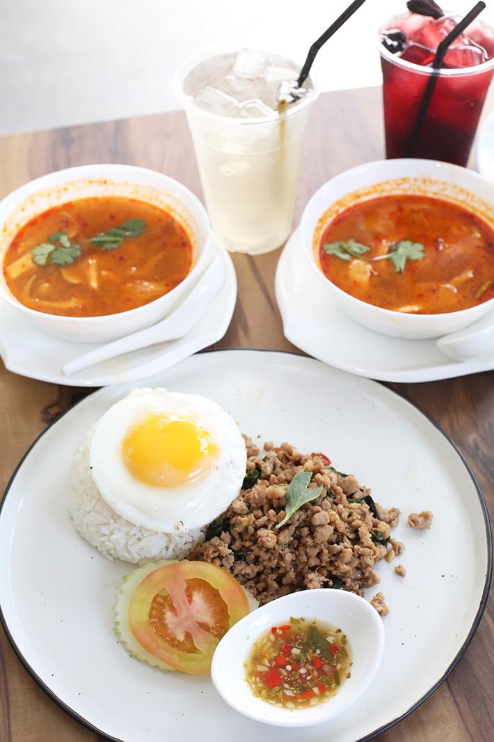 Thai Street Co Basil Pork Rice
