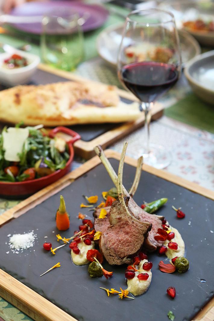 Winestone Roasted Lamb Rack