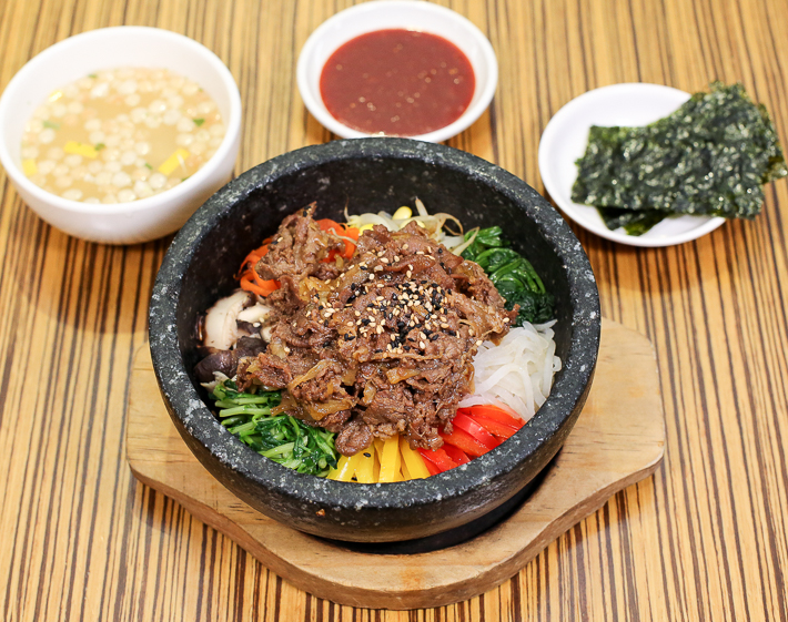 Kimchi Korean Restaurant Beef Bibimbap