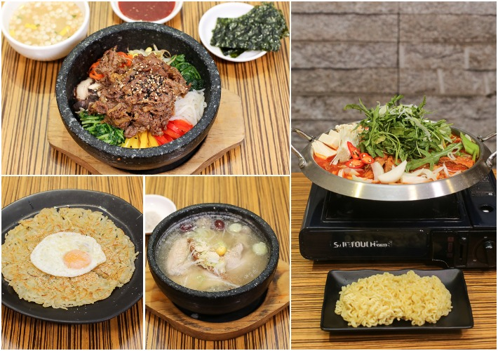 Kimchi Korean Restaurant Collage