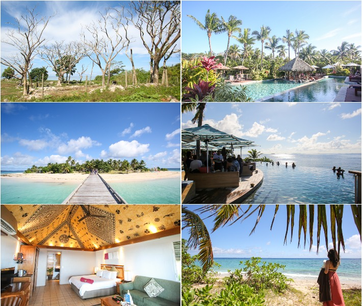 Fiji Resorts and Beach Collage