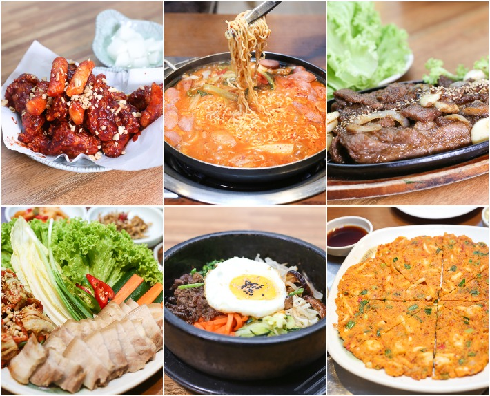 Cho-won Garden Korean Restaurant Collage
