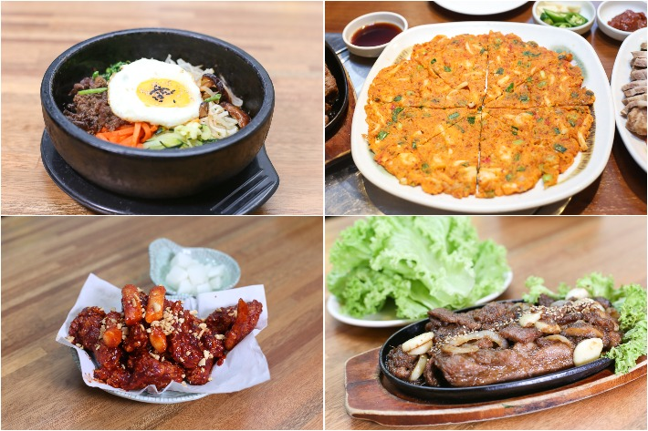 Chowon Garden Korean Restaurant Collage 2