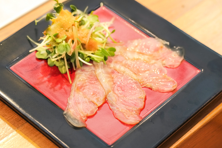 Fat Cow Yuzu Flounder