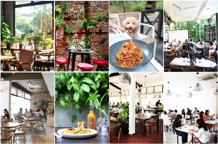 Garden Themed Cafes Singapore