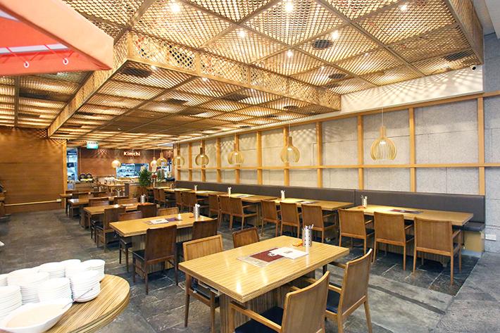 Kimchi Korean Restaurant Interior Shot