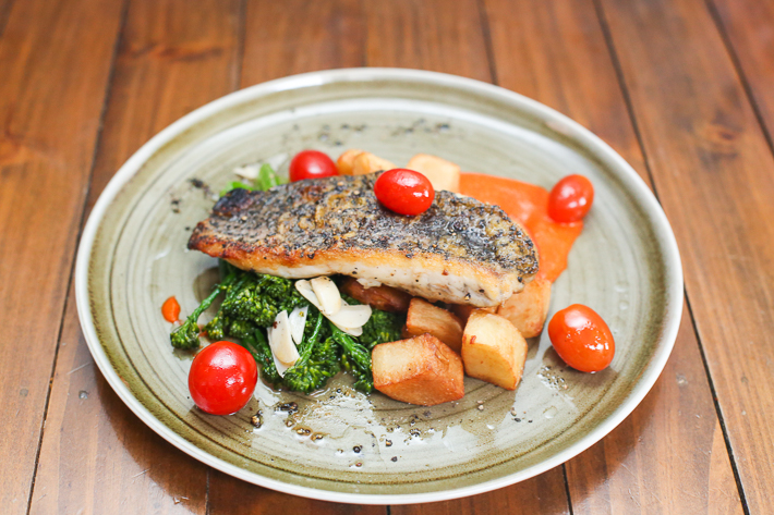 Oriole Coffee and Bar Pan-Seared Barramundi