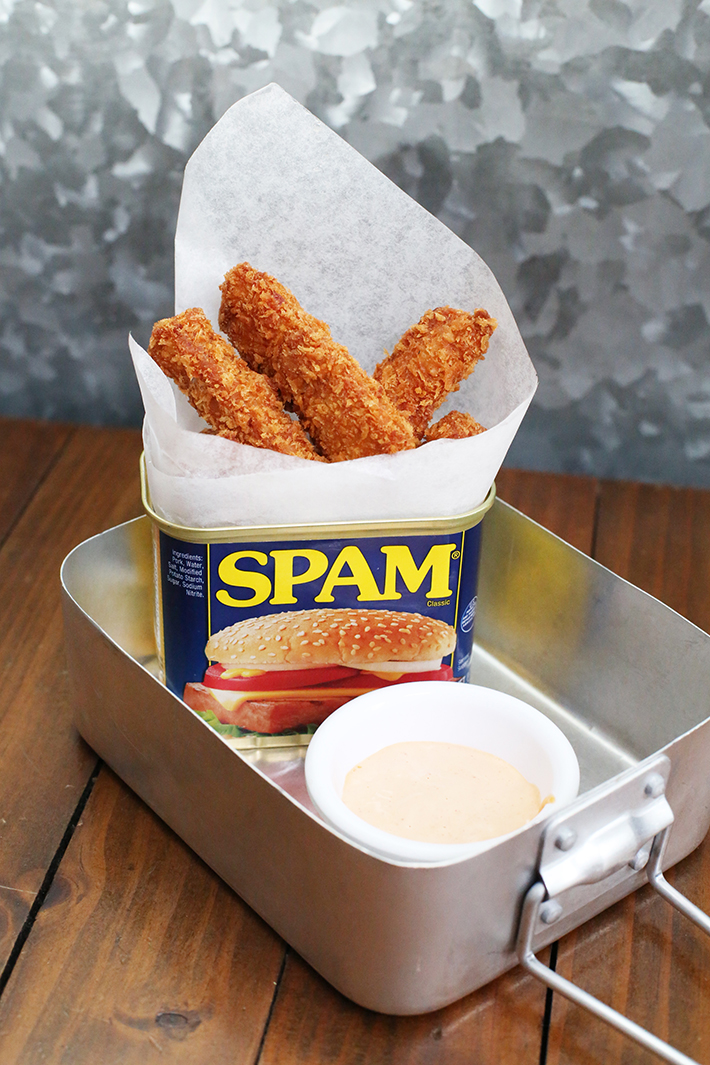 Oriole Spam Fries
