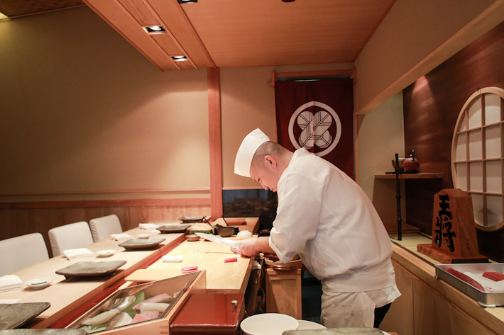 Shinji Kanesaka Chef