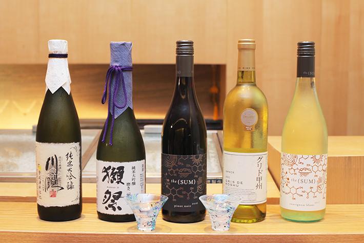 Sushi Jiro Wine
