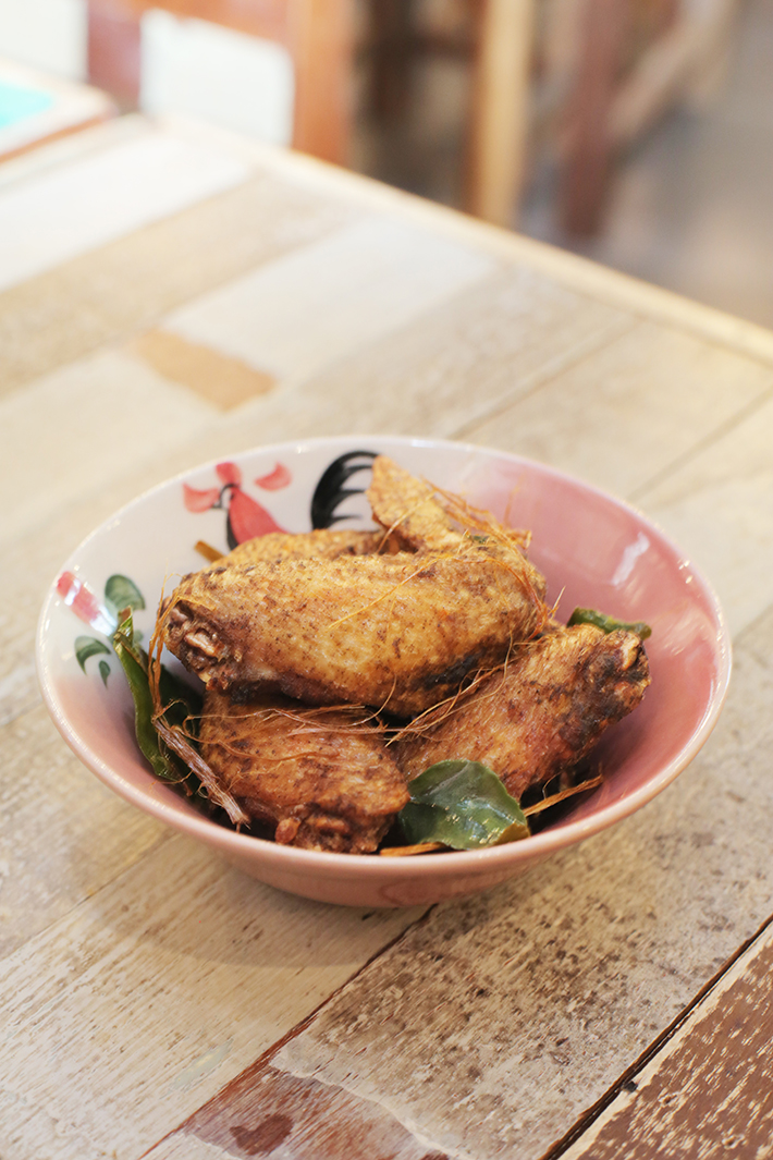 Thai Boat Noodle Chicken Wings