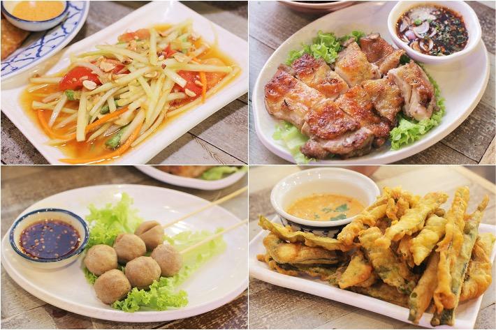 Thai Boat Noodle Side Dishes