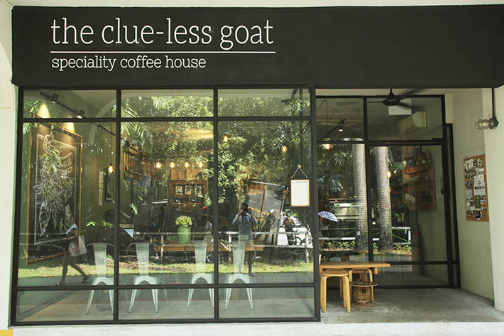 The Clue-Less Goat