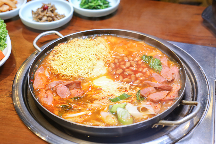 Cho Won Garden Korean Spicy Sausage Stew