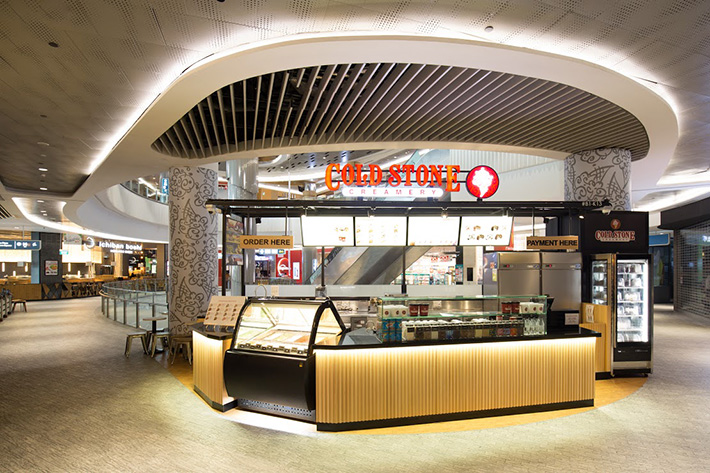 Cold Stone Creamery Waterway Point Singapore