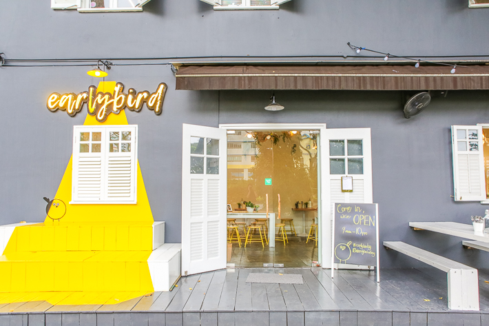 Earlybird Cafe Exterior