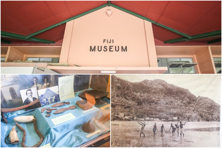 Fiji Museum Collage