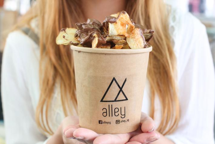 Geylang Serai Chocolate Potato Chips