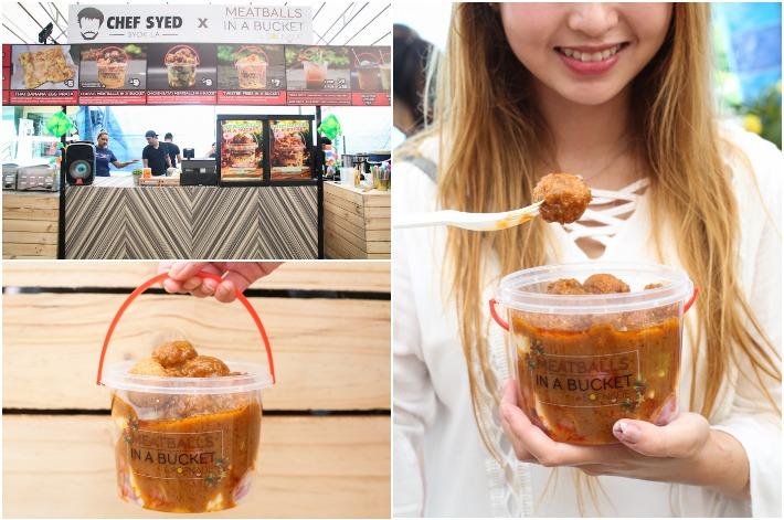 Geylang Serai Meatballs In Bucket