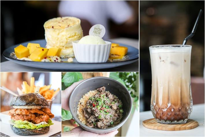 Johor Bahru Cafes Collage