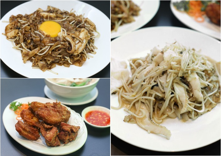 Ka Soh Restaurant collage