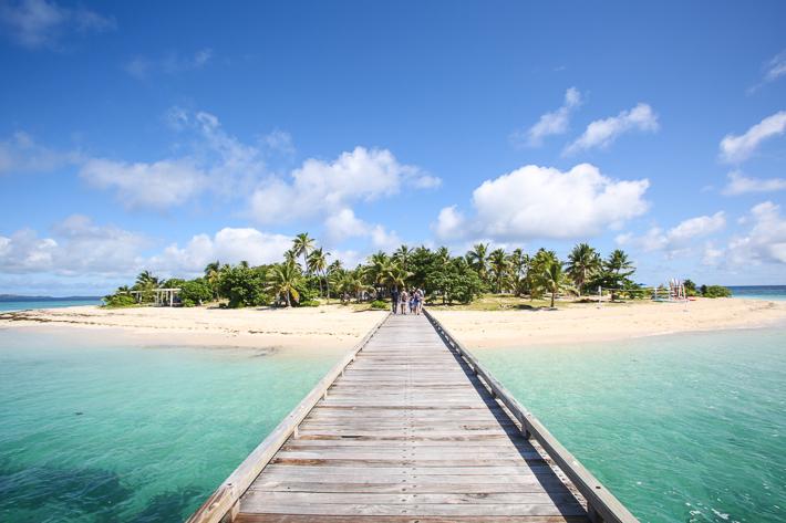 Malamala island walkway