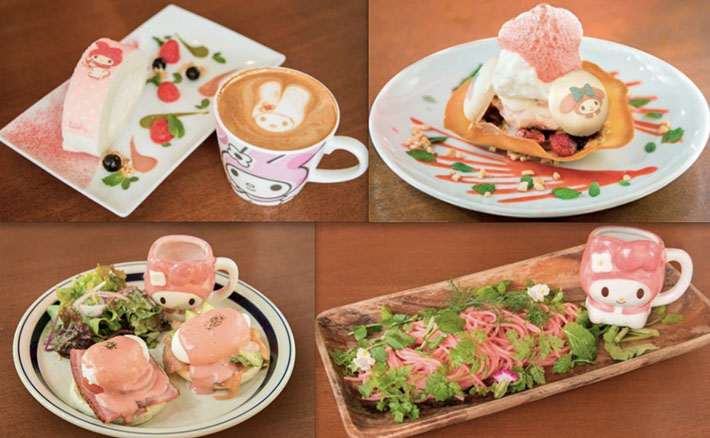 My Melody Cafe Food