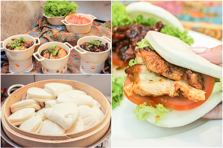 Royale DIY Bao-wich Collage