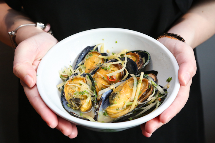 The Salted Plum Mussels