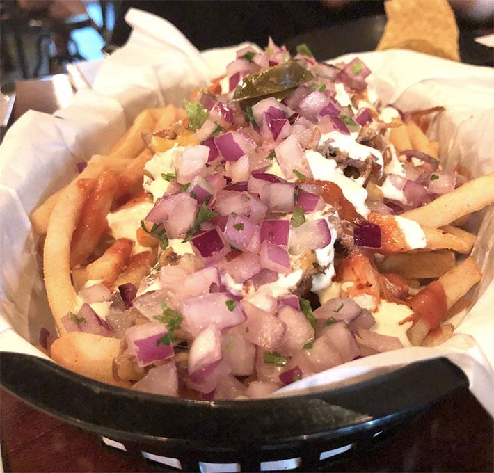 Vatos Urban Tacos Kimchi Carnitas Fries