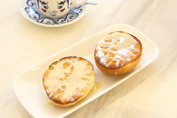 Buns with Condensed Milk