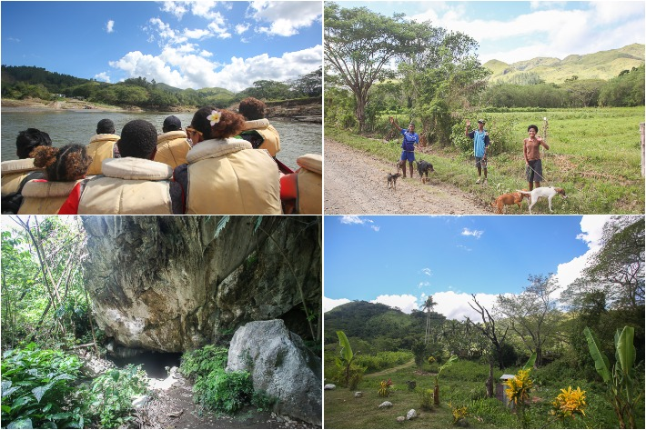 Off road Safari and Naihehe Cave Fiji