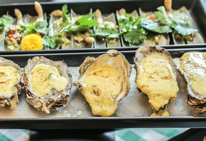 Spice Brasserie Baked Hokkaido Oyster