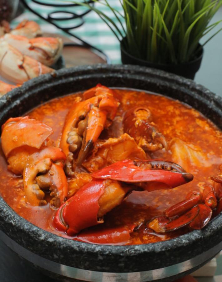 Spice Brasserie Chili Crab