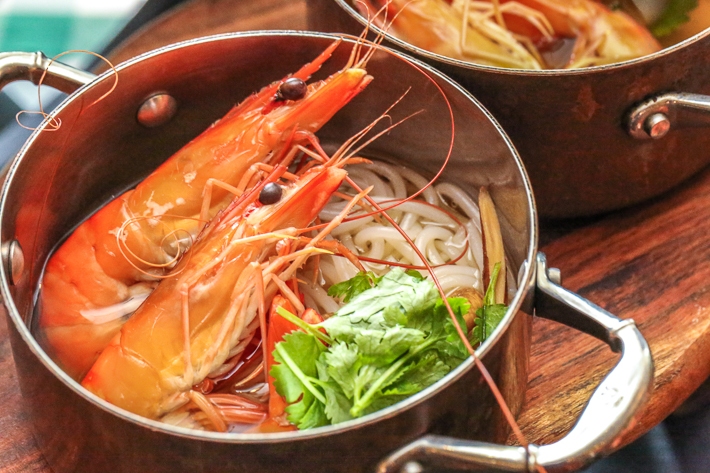 Spice Brasserie Prawn Noodles