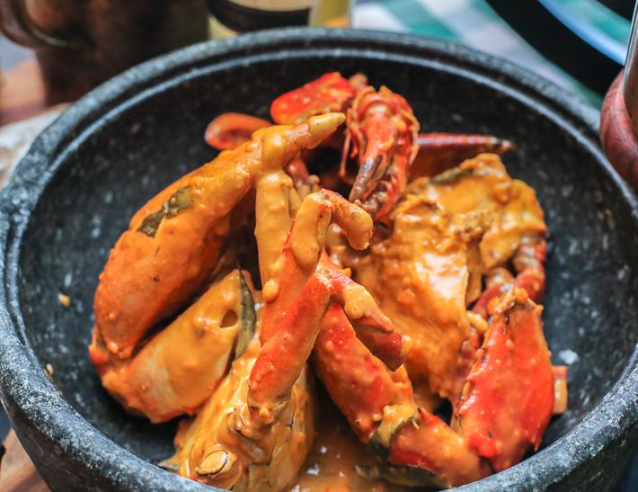 Spice Brasserie Salted Egg Crab