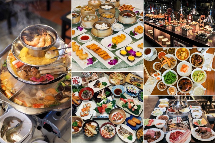 Student-Priced Buffets Collage