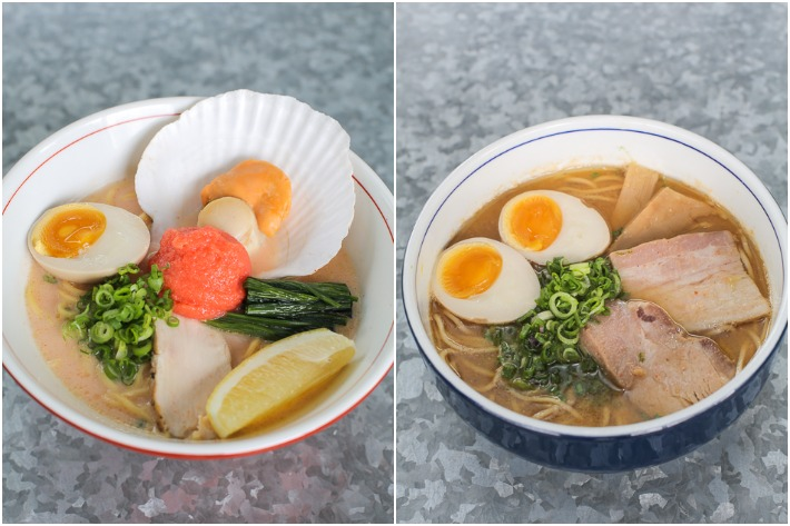 Tsukiji Ramen Collage