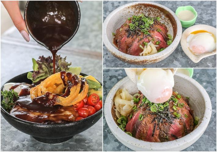 Tsukiji Steakhouse Collage