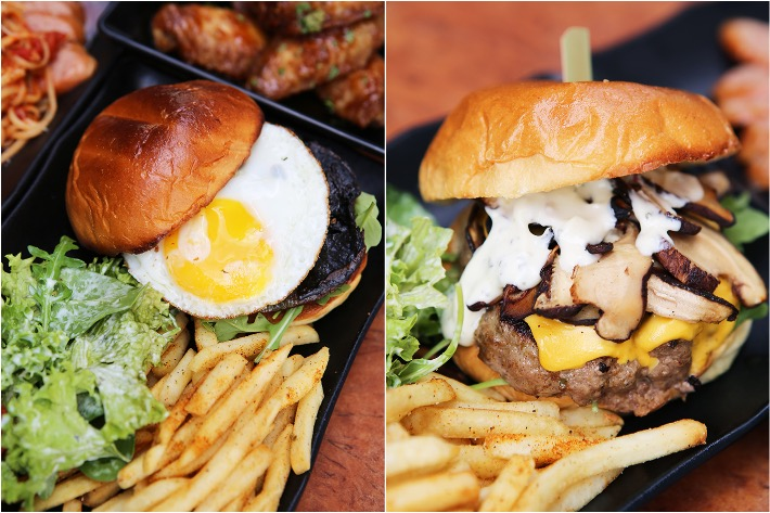 Burp Kitchen Burger Collage