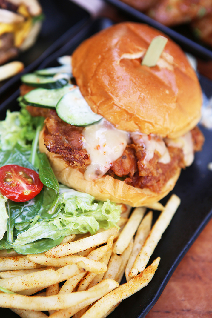 Burp Kitchen Har Cheong Gai Burger