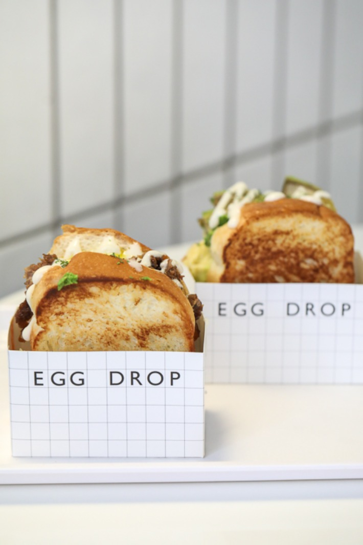 Egg Drop Sandwiches