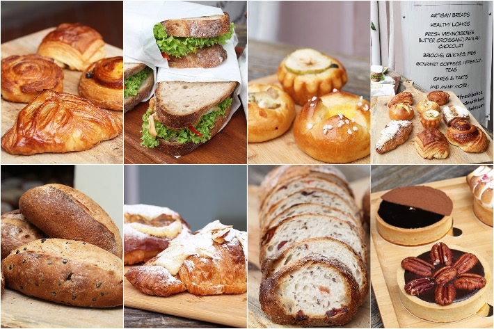 Enjoué Bakery Collage