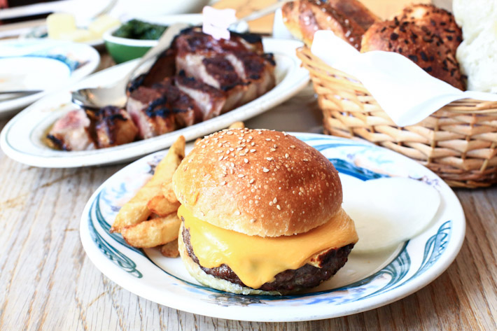 Peter Luger Steakhouse Burger