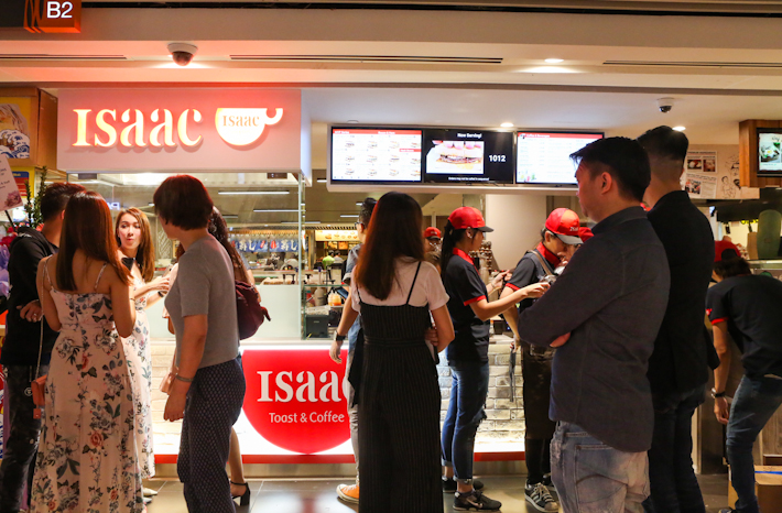 Isaac Toast Exterior