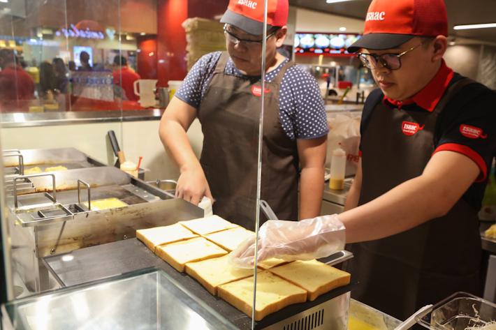 Isaac Toast Staff