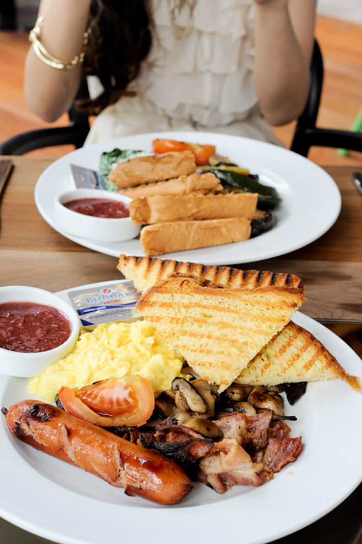Kith Cafe Big Breakfast